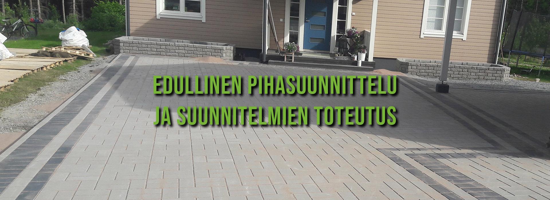 Pihasuunnitelmat ja suunnitelmien toteutus edullisesti Tampereen seudulla | Pihamestari.fi