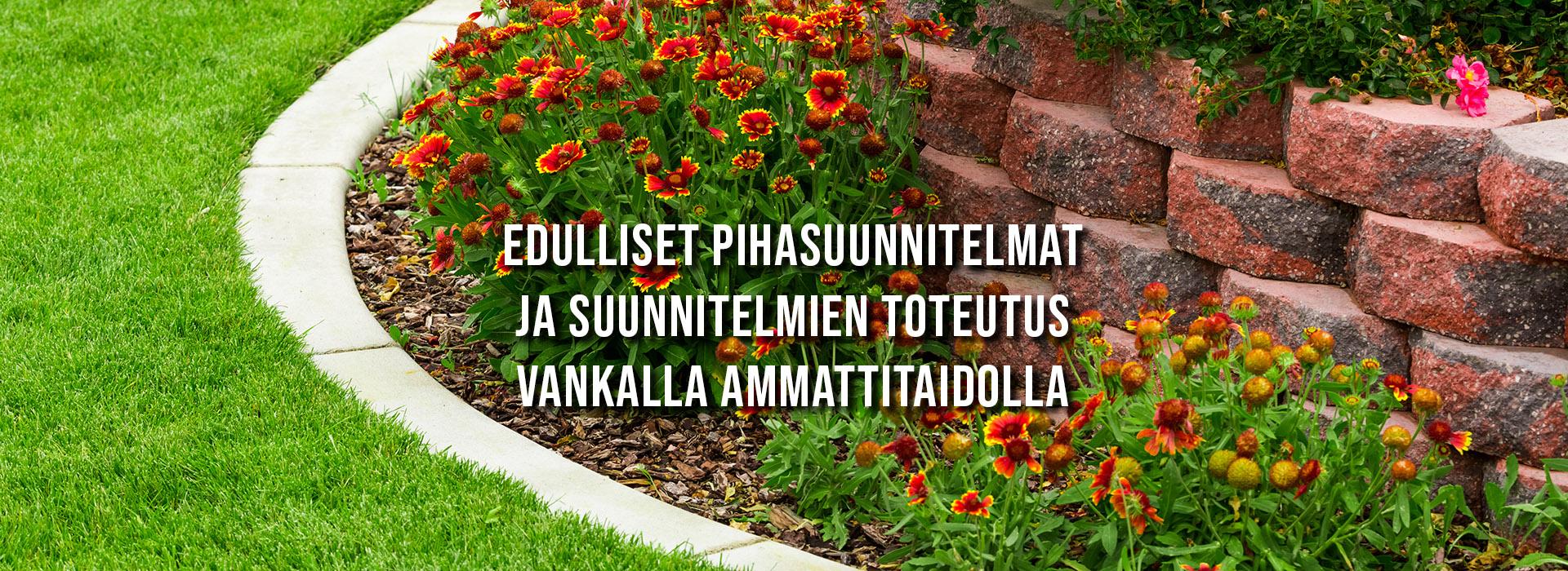 Puutarhatyöt ja viherrakentaminen - pihasuunnitelmat ja niiden toteutus vankalla ammattitaidolla   PihaMestari.fi